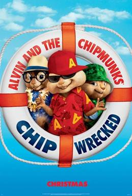 Alvin and the Chipmunks: Chipwrecked on Shelves Now