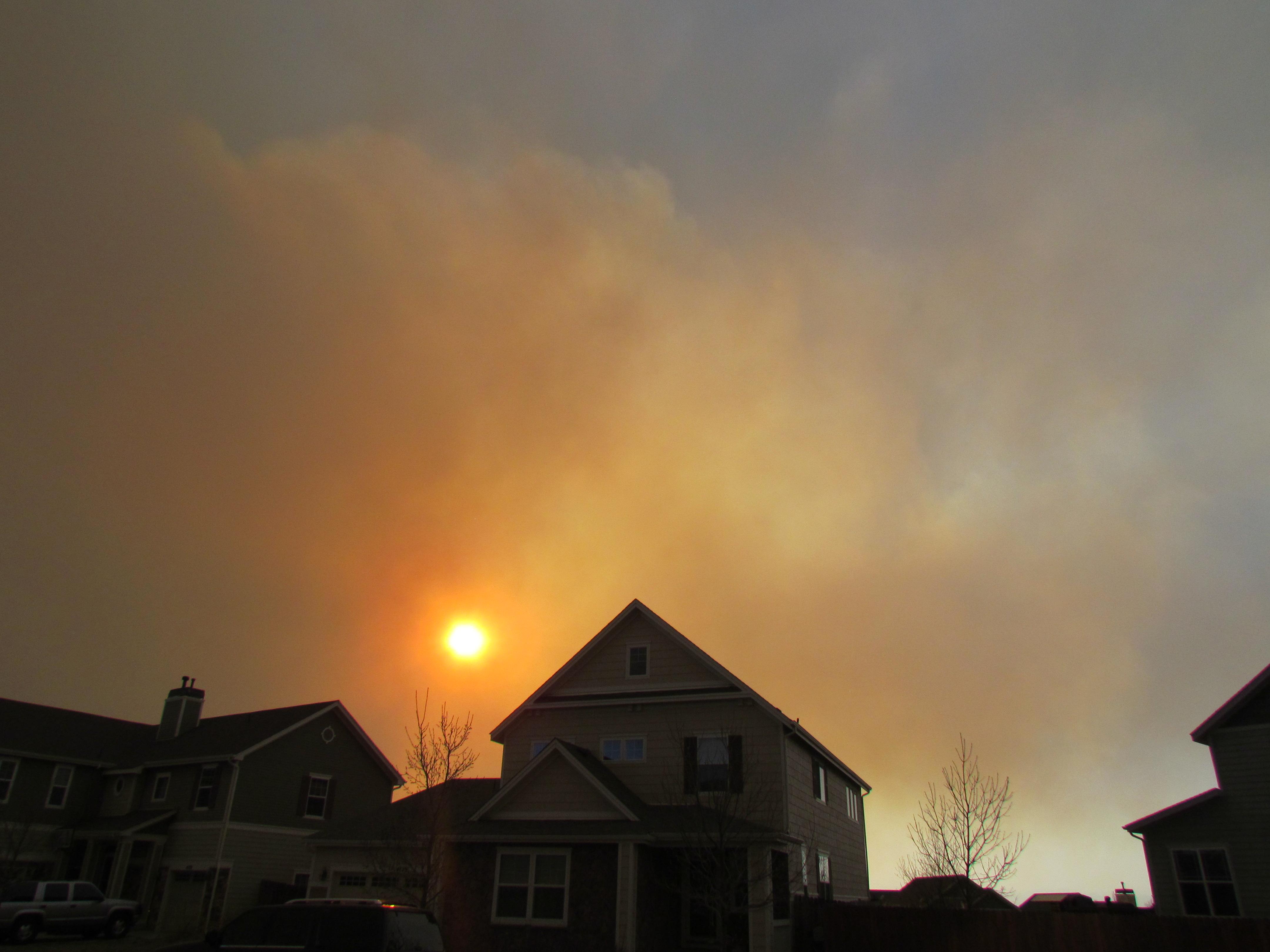 Wordless Wednesday: #Colorado Wildfires