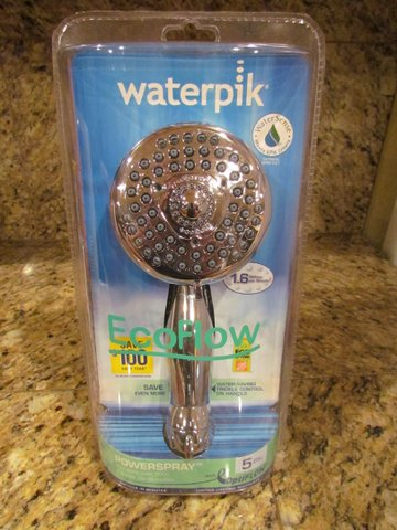 Conserve Water and Save Money with Waterpik #Giveaway