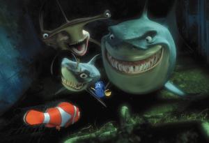 Finding Nemo sharks