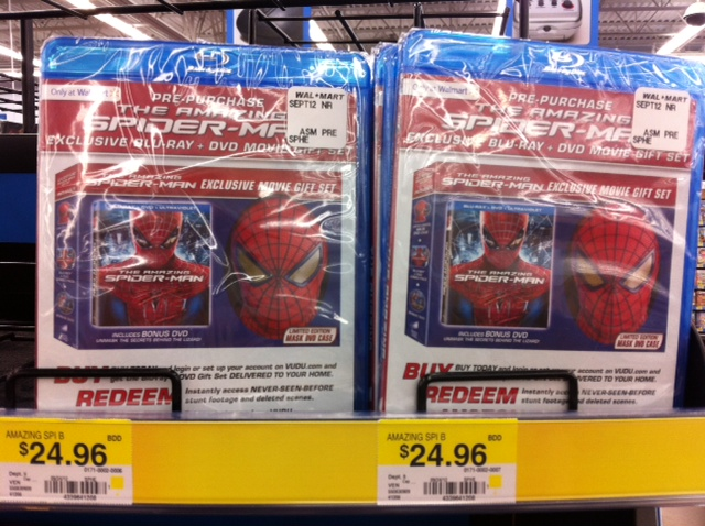 Spider-Man Mask box set