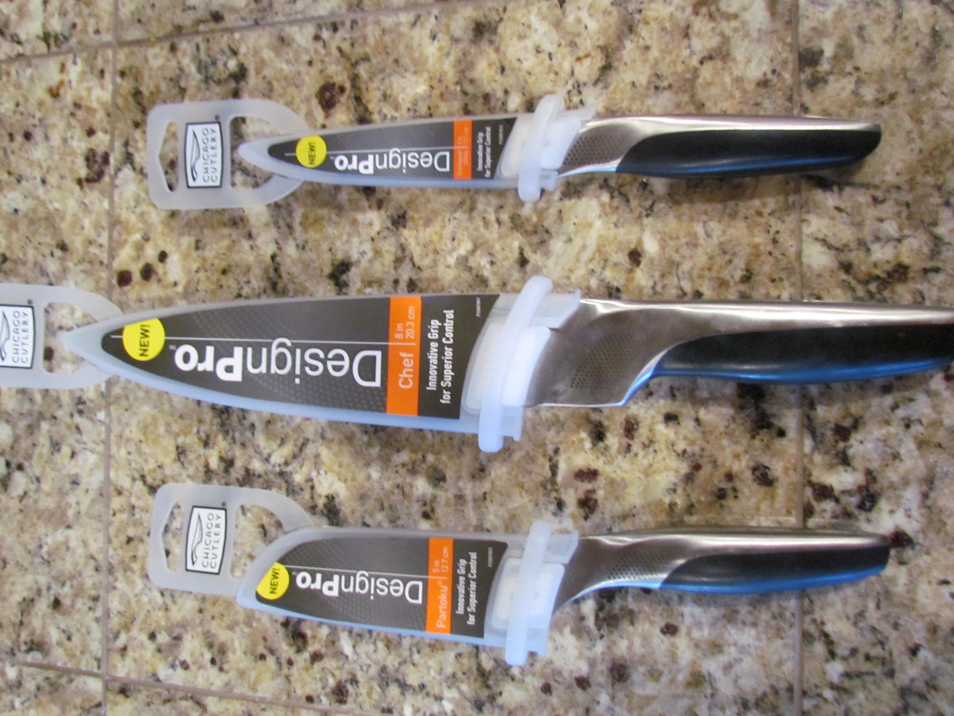 Vintage cutco cutlery 1023 serrated carving knife brown handle - Filename Chicago Cutlery Knives 2 Jpg