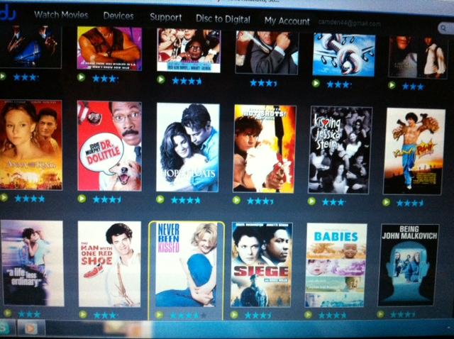 Vudu.com free movie