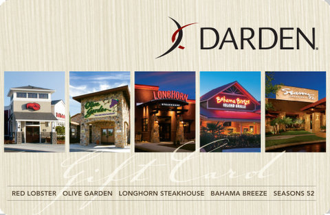 Make Memories At Mealtime With Darden Gift Cards
