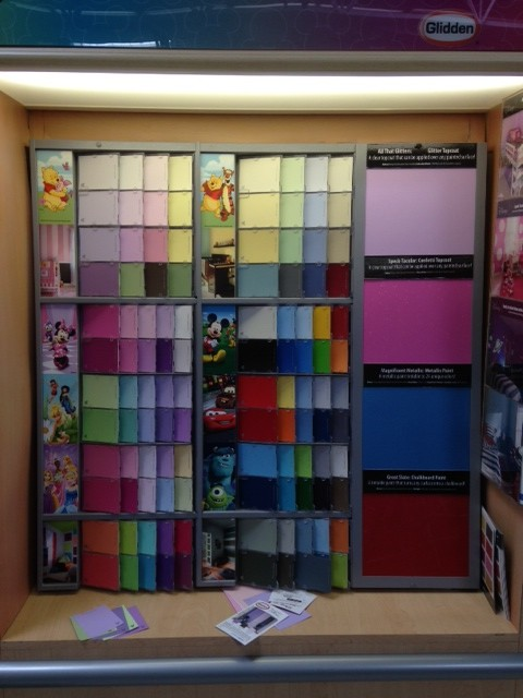 Painting With Glidden Disney Paint