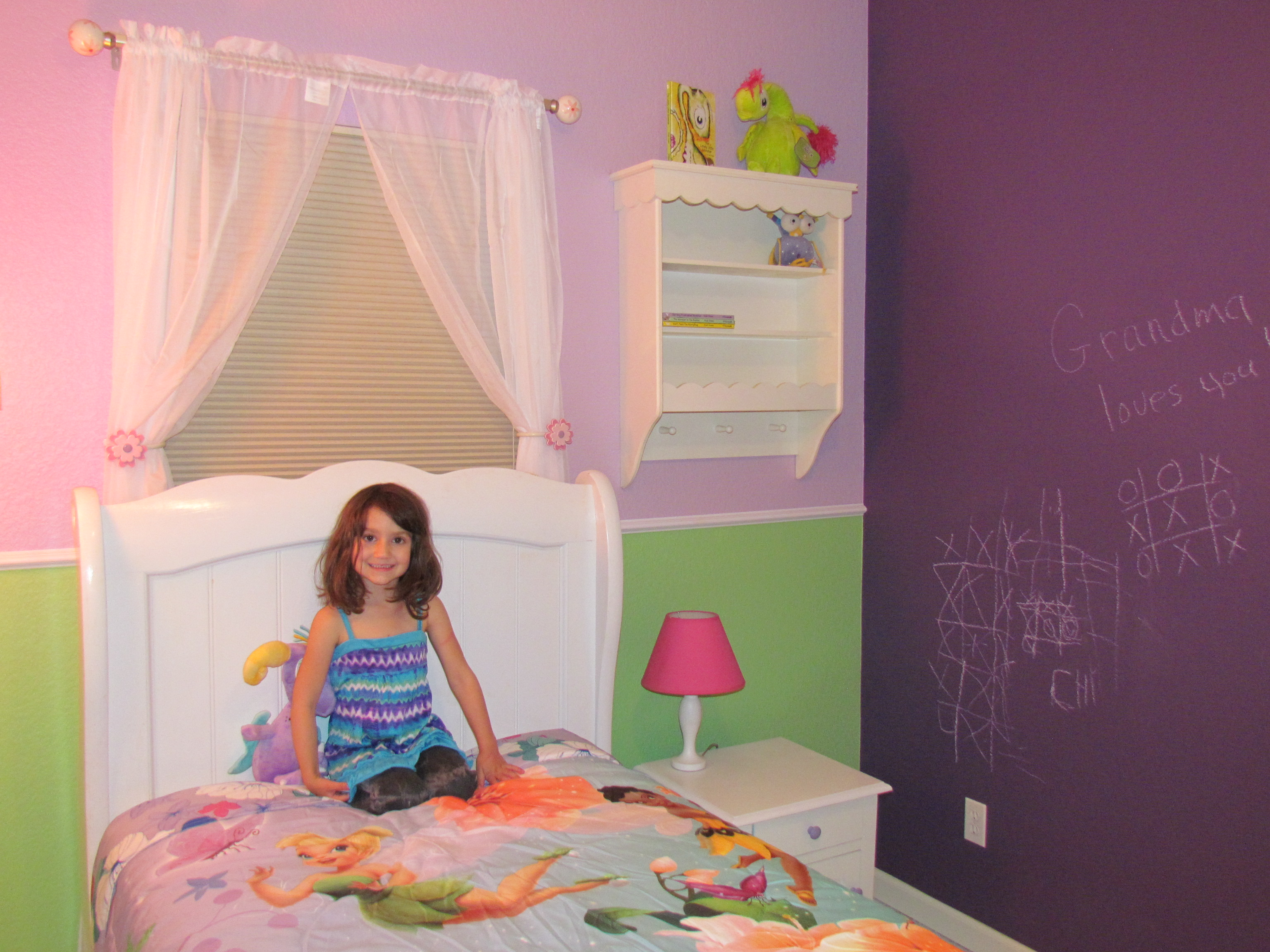 Glidden Disney Paint Room Reveal And Spa Party