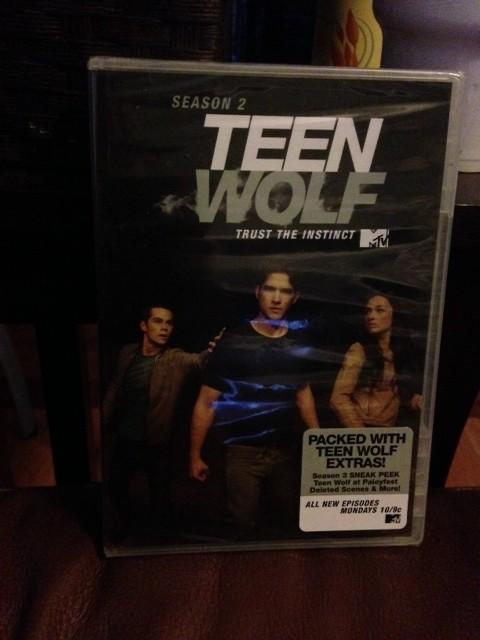 Season 2 Teen Wolf on DVD. New Episodes 6/3