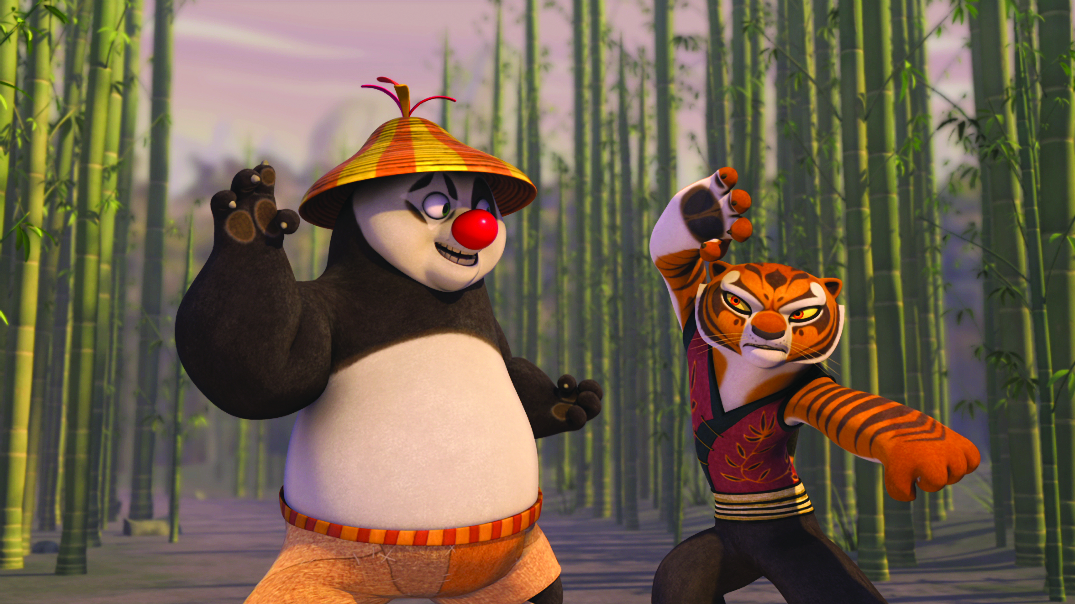 Тигрица ис кунфу панды картинки 19 фотография