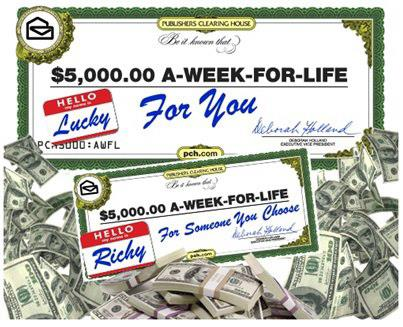 $5,000 week for Forever