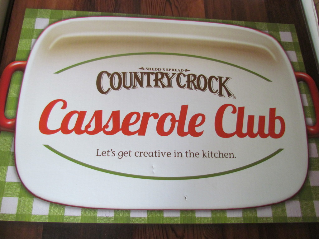 Country Crock Casserole Club