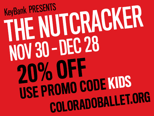 Discount for The Nutcracker at Ellie Caulkins Opera House