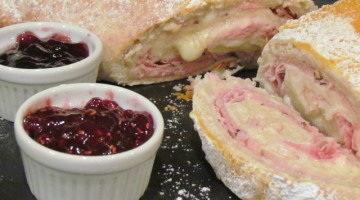Pretzel Ham & Swiss Roll