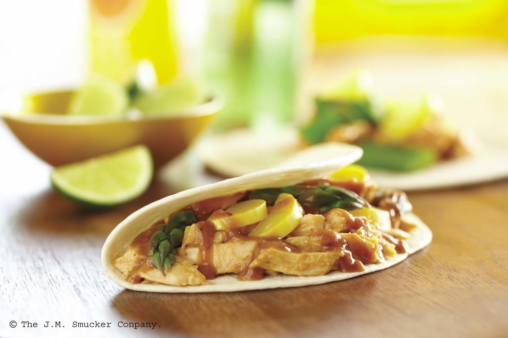 Wushu Chicken Tacos