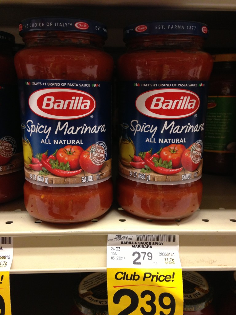 #barilla Spicy Marinara