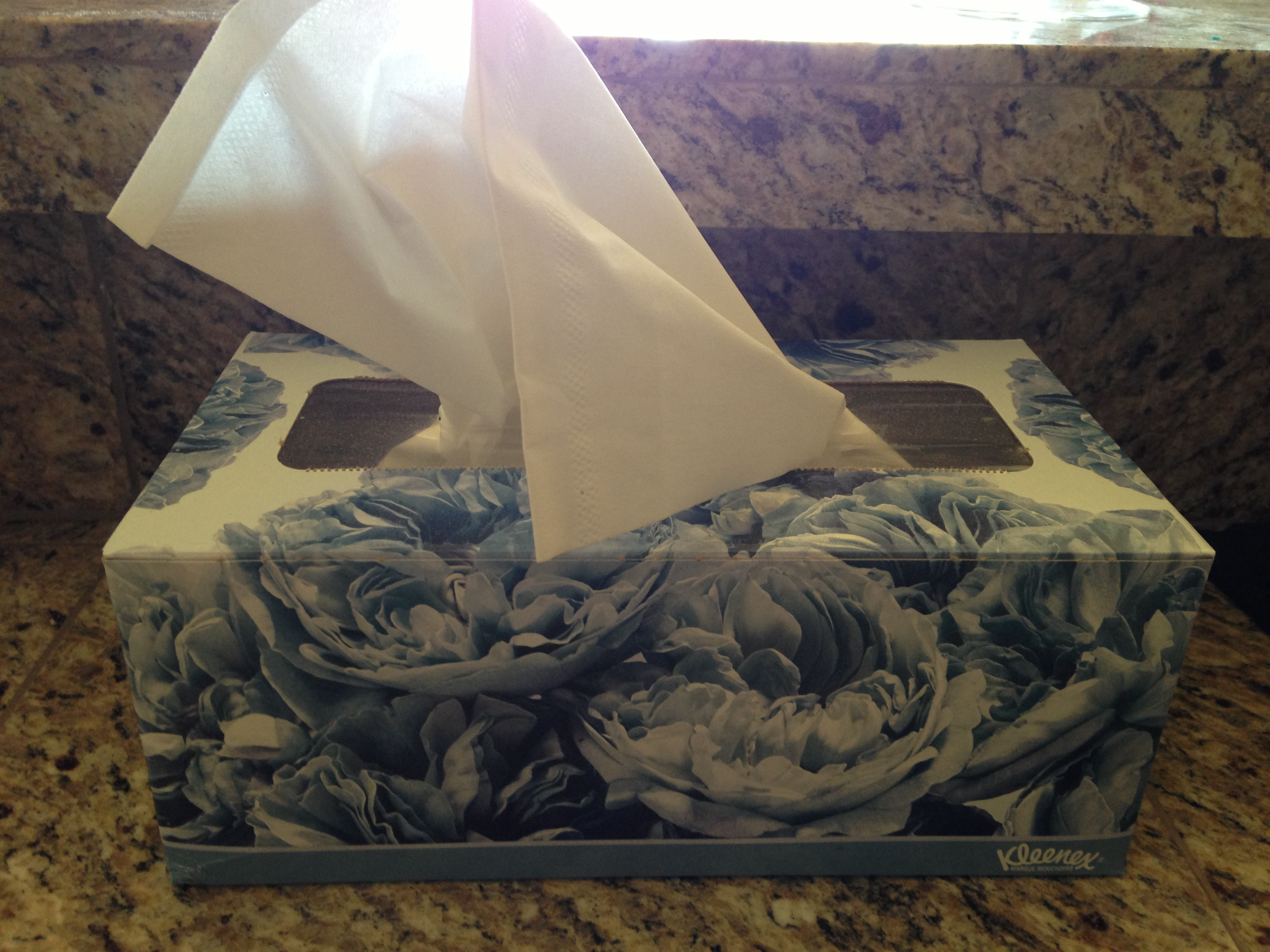 Be Prepared for Cold & Flu Season with Kleenex Brand Tissues  #5C4D34