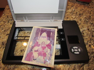 Scanning pictures with Flip Pal