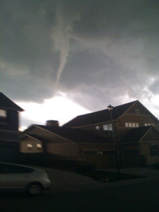 tornado in Colorado