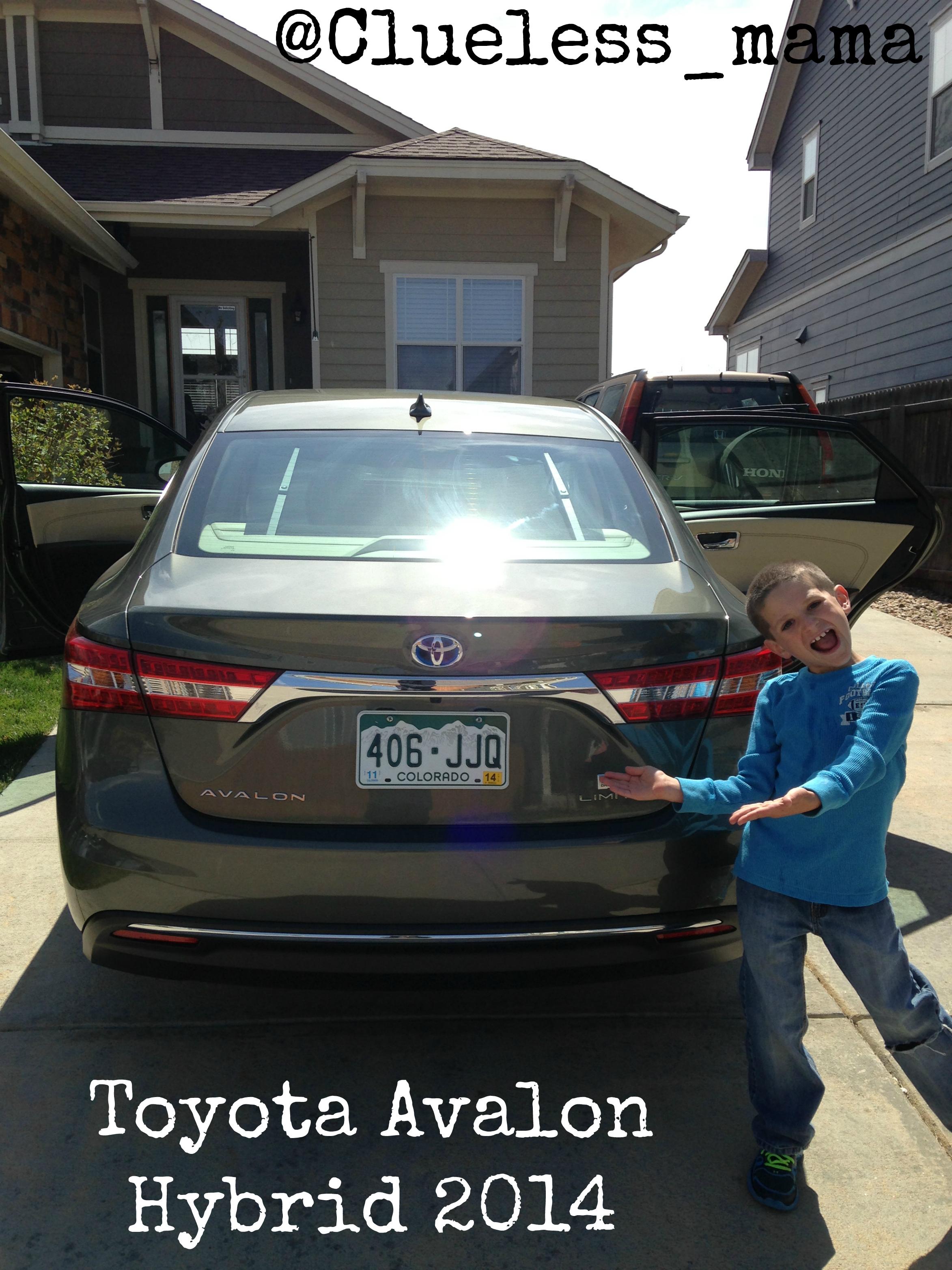 #Toyota Avalon Hybrid 2014