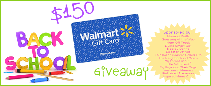 Back to School Shopping $150 Walmart GC Giveaway