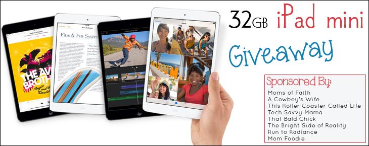 iPad Mini Giveaway for Back to School!