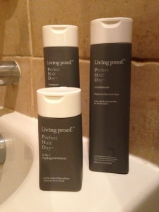 Living Proof PhD bottles