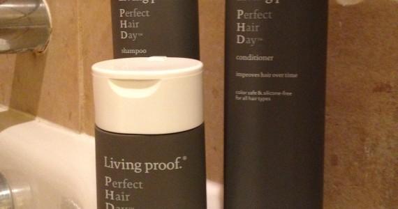 Living Proof PhD bottles