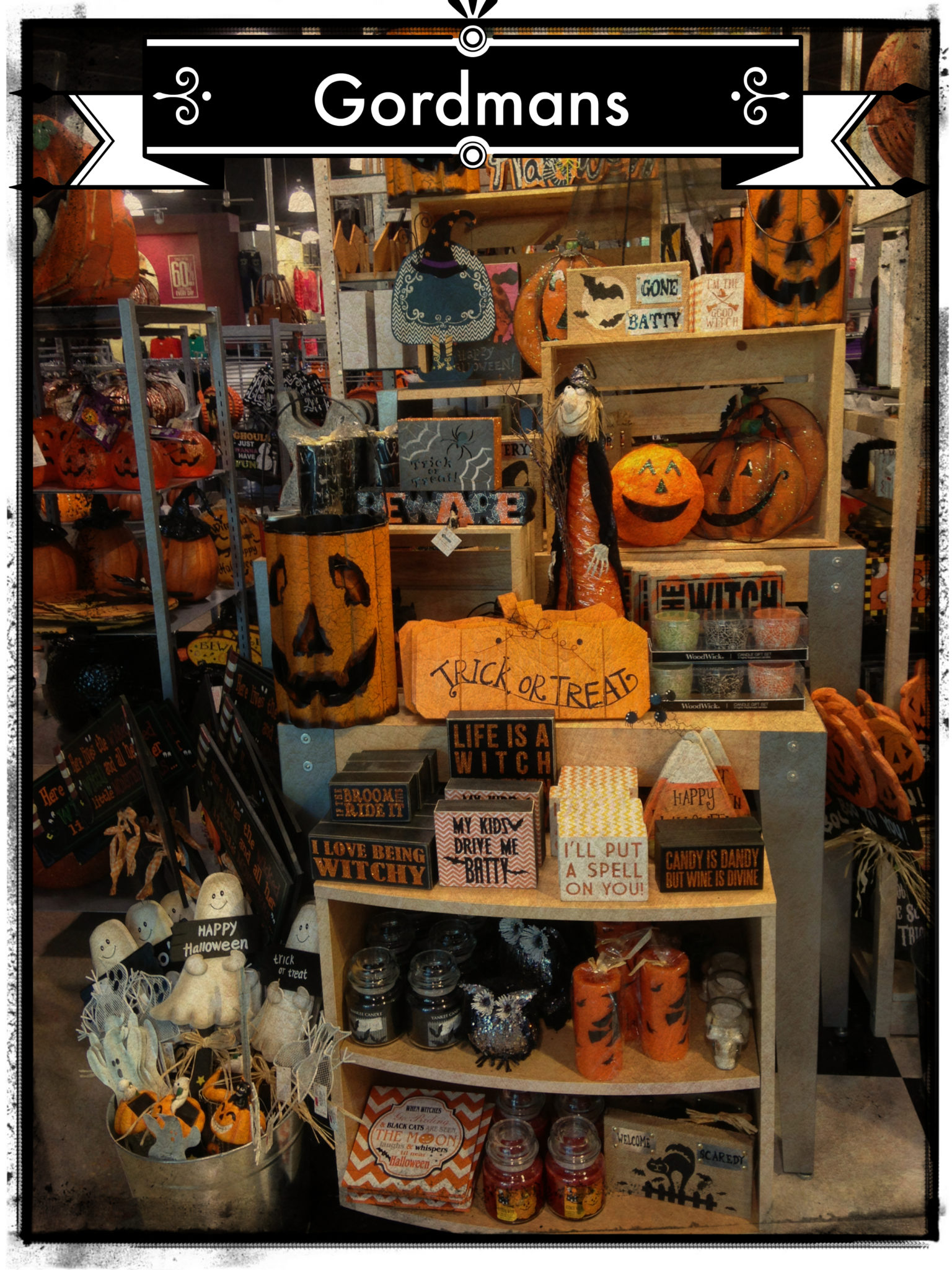 Gordmans Makes The Perfect Halloween House