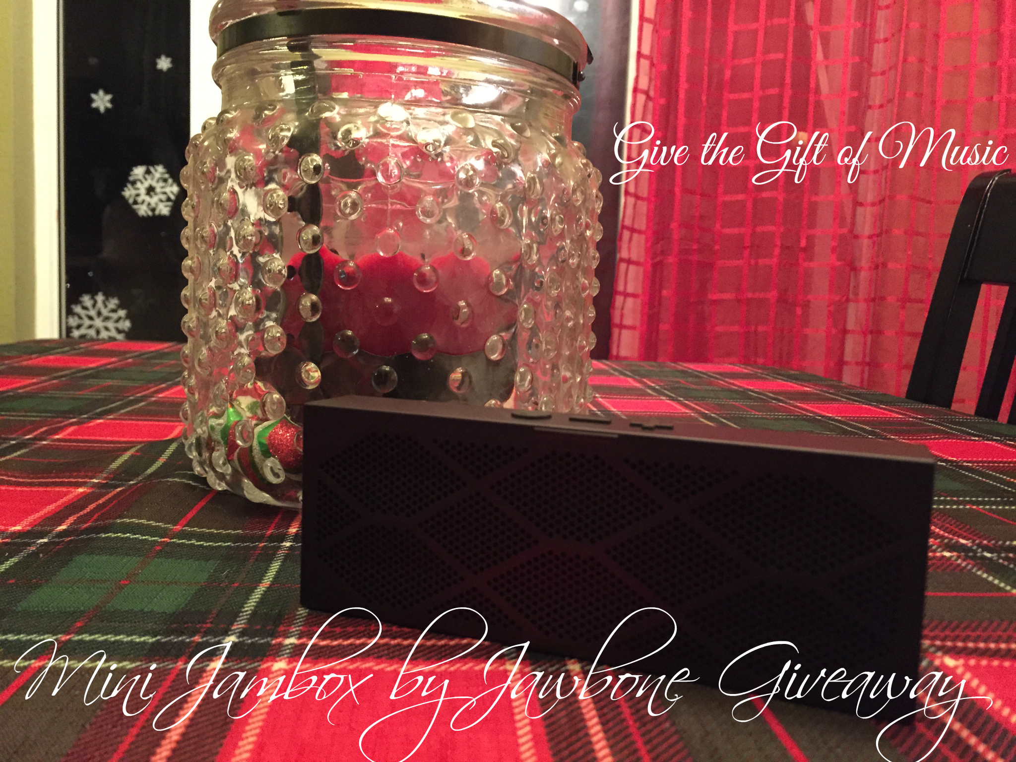 Give the Gift of Music with Mini Jambox by Jawbone #Giveaway