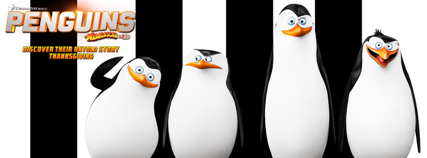 Dreamworks Animation Penguins of Madagascar Giveaway