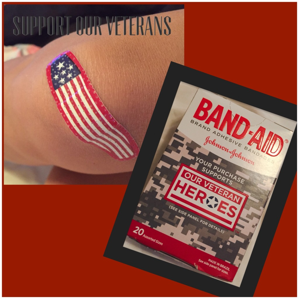 Veterans Band-Aid Brand