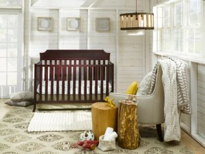 Auri_cherry nursery crib