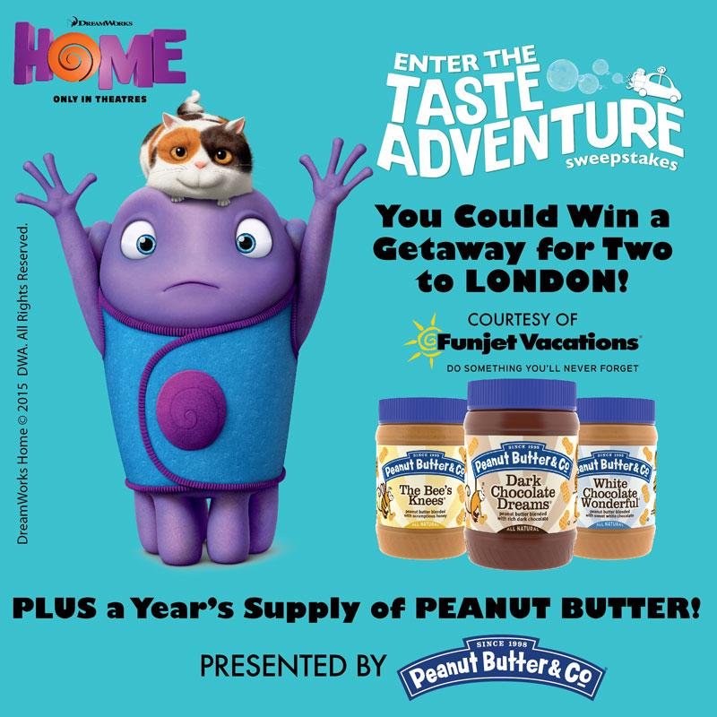 DreamWorks Animation's HOME & Visa GC Giveaway