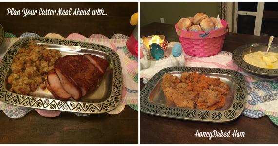 HoneyBaked Ham dinner