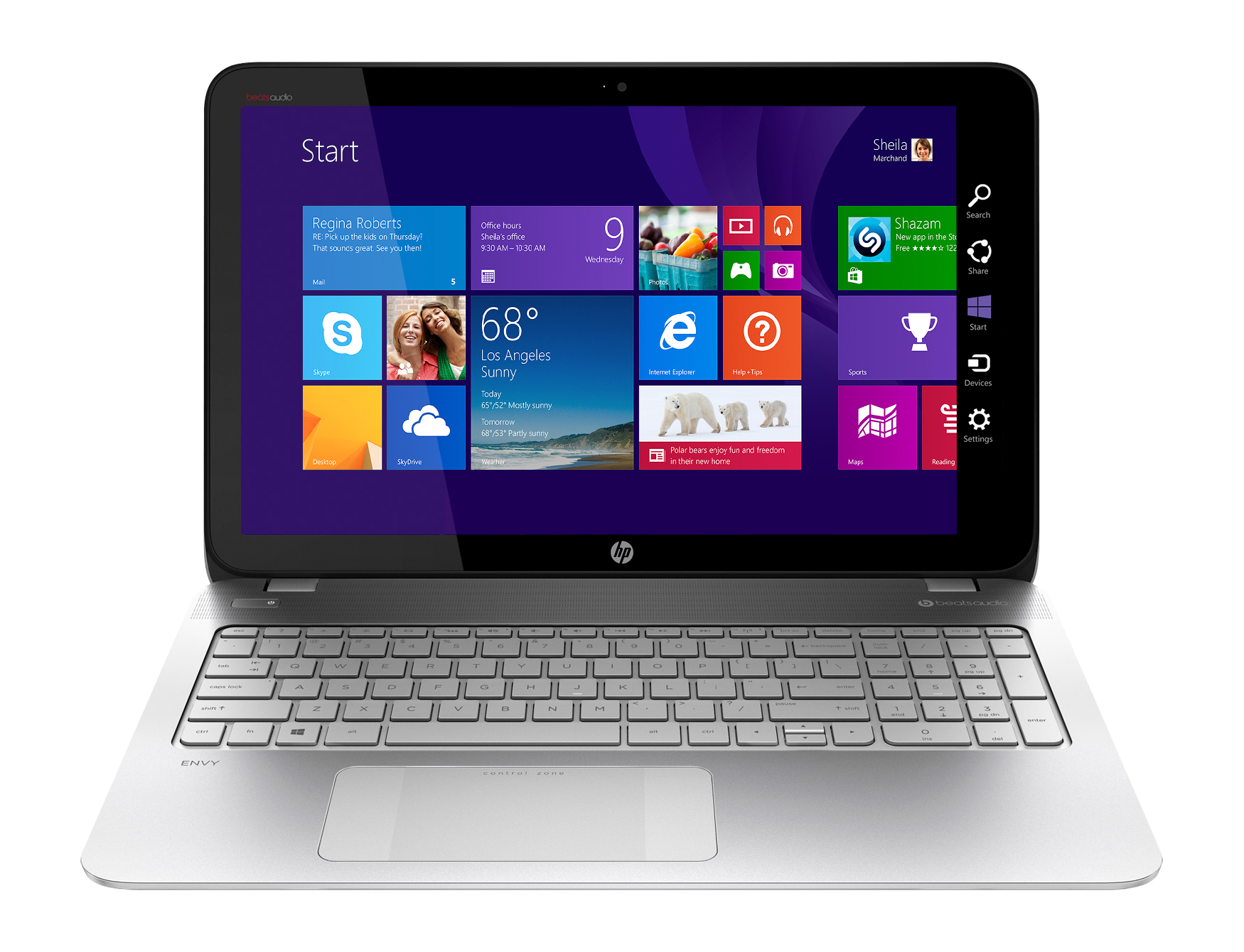 Check out the AMD FX APU- HP Envy Touchsmart Laptop at Best Buy