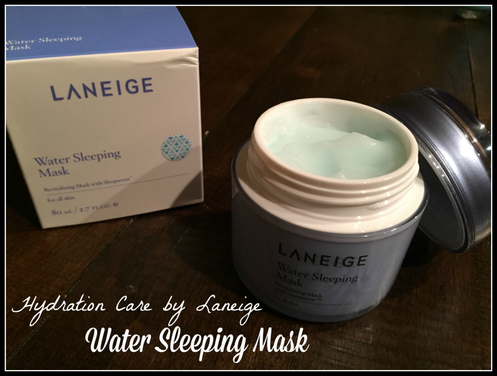 Laneige Sleep Mask #TimelessSkin