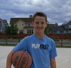 Nephew playing basketball #Sprint LG G4