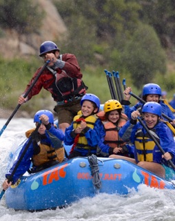 The Adventure Company Rafting Trip