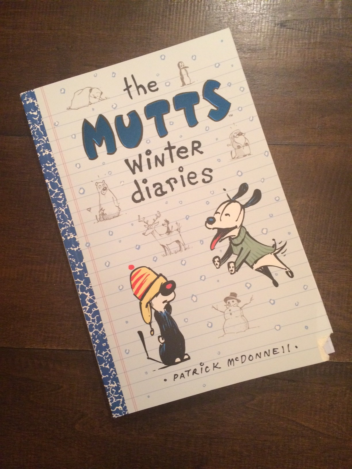 The MUTTS Winter Diaries Comics GIVEAWAY
