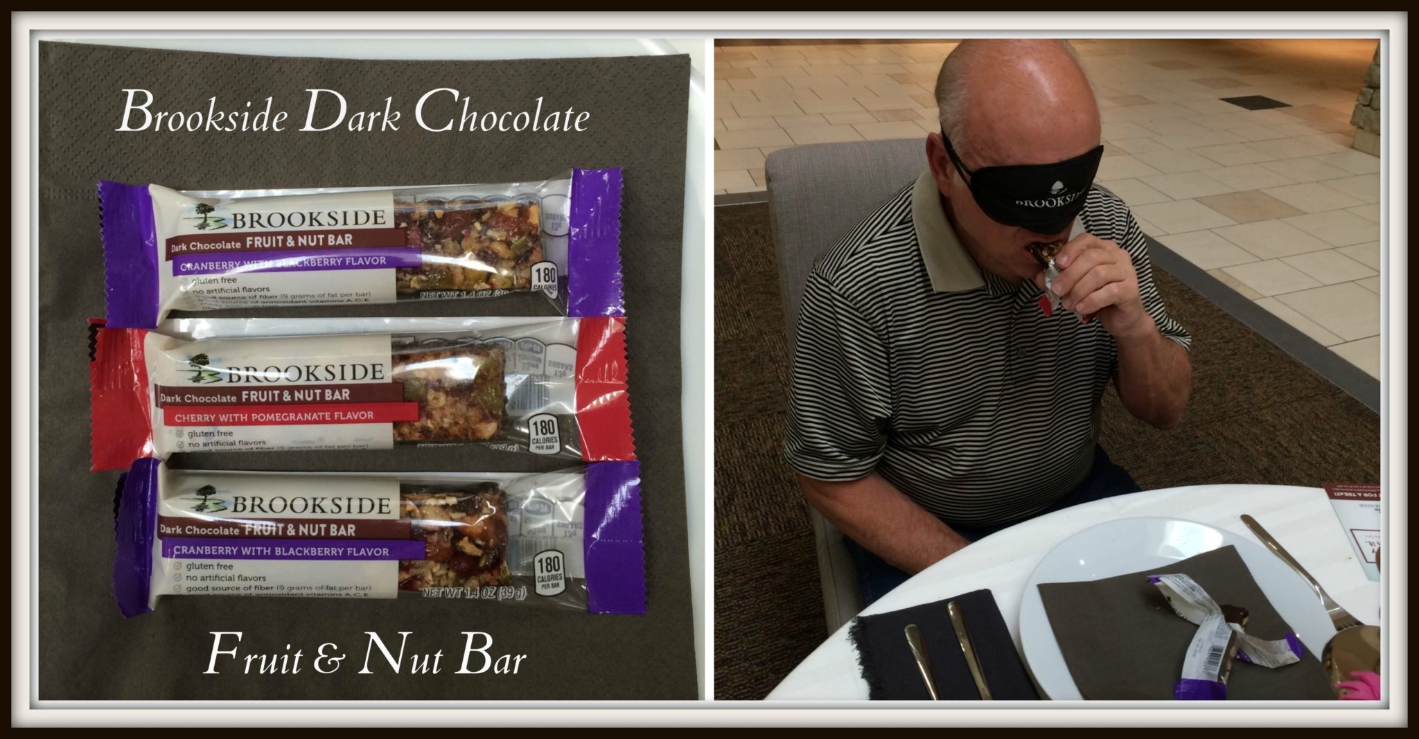 Brookside Chocolate Fruit & Nut Bars, Dark and Delicious