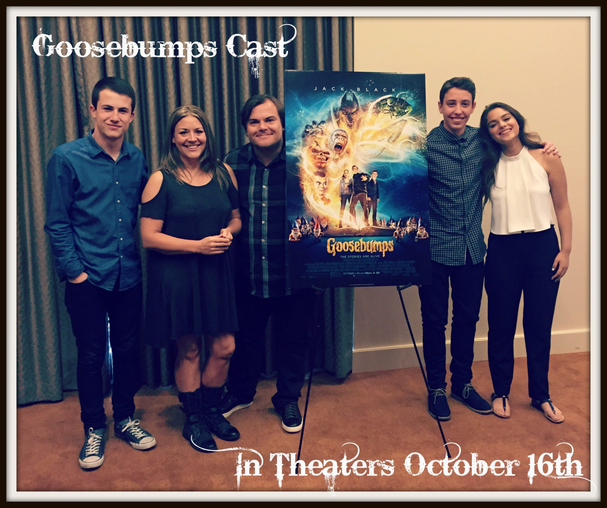 Sitting Down with the Cast of Goosebumps!