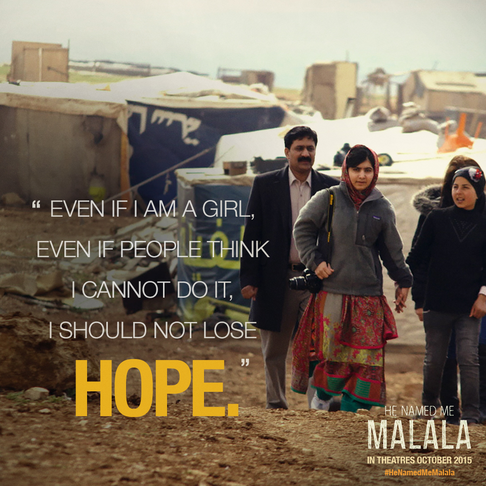 He Named Me Malala, a Touching Story of Bravery and Strength