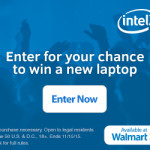 Intel laptop sweepstakes through Walmart