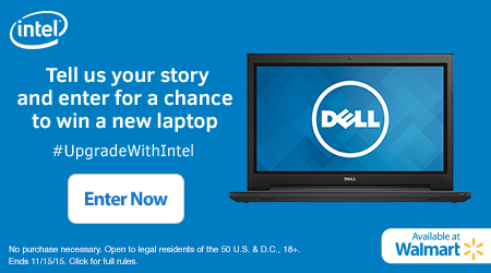 #UpgradewithIntel Sweepstakes Microsite