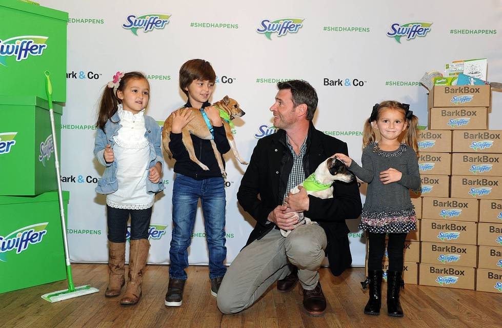 Scott Foley Welcome Home Event #ShedHappens