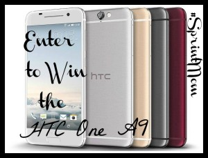 HTC One A9 Giveaway #SprintMom