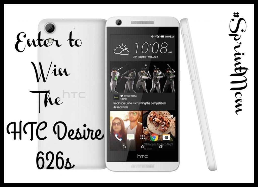 HTC Desire 626s Giveaway #SprintMom