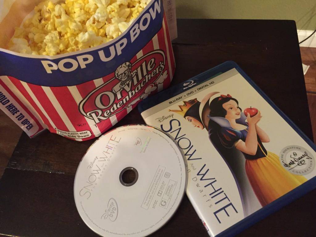 #SnowWhite on Blu-ray