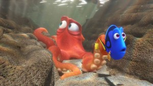 Dory and Hank #FindingDory
