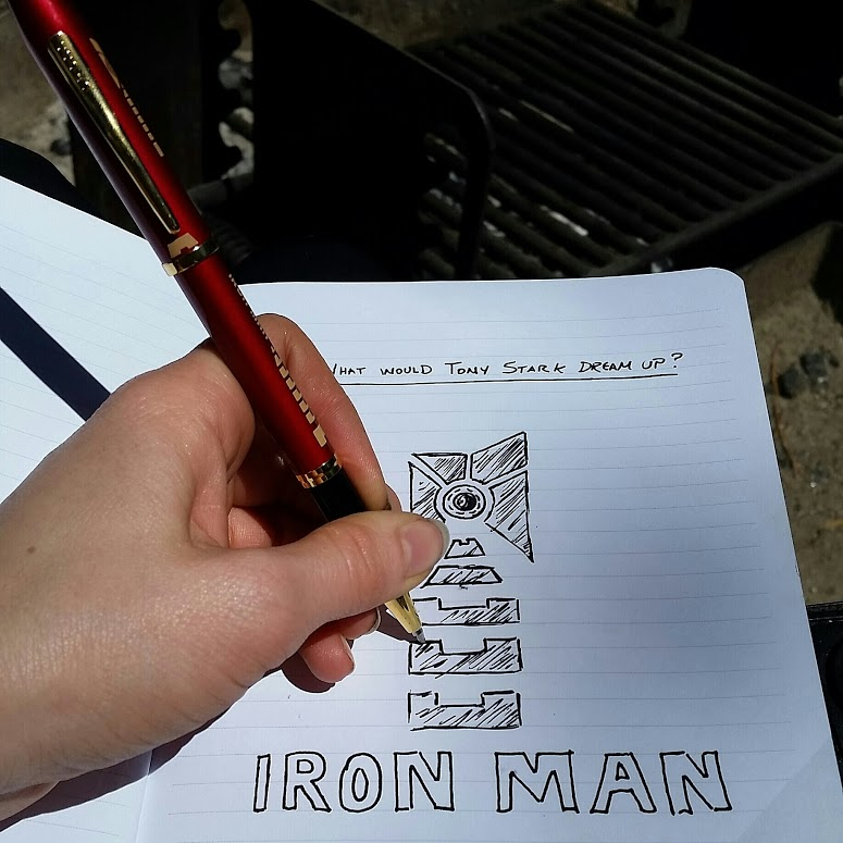 Iron Man CROSS Marvel Series #WriteGift #SuperPen