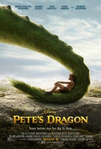 Pete's Dragon remake movie poster